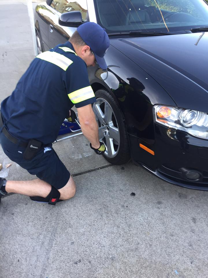 flat tire replacement in Sterling VA